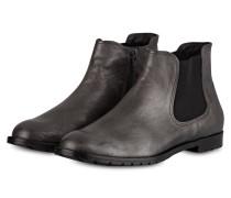 Chelsea-Boots ERJA - ANTHRAZIT METALLIC