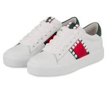 Sneaker UP - WEISS/ ROT/ GRÜN