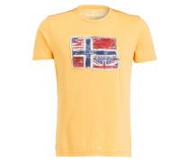 T-Shirt SENOU - gelb