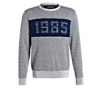 Pullover - schwarz/ grau/ dunkelblau