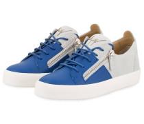 Sneaker DOUBLE - BLAU/ HELLGRAU