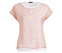 T-Shirt - weiss/ rosé