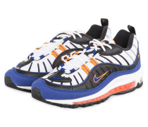 Sneaker AIR MAX 98 - WEISS/ BLAU/ ORANGE