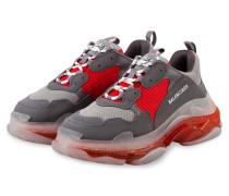 Sneaker TRIPLE S - GRAU/ ROT