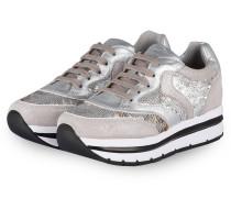 Plateau-Sneaker MARGOT - GRAU
