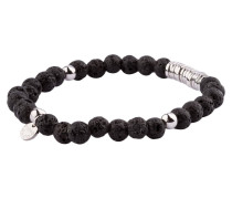 Armband - schwarz/ silber