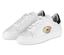 Sneaker LOVE STREET - weiss/ schwarz
