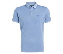 Piqué-Poloshirt AMBROS - hellblau