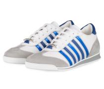Sneaker NEW RUNNER - WEISS/ DUNKELBLAU