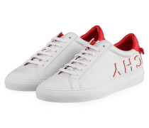 Sneaker REVERSE - WEISS/ ROT
