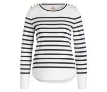 Pullover - weiss/ schwarz