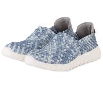 Slip-on-Sneaker - hellblau/ blaugrau