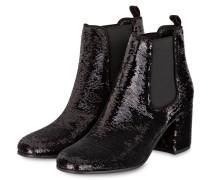 Chelsea-Boots KIKI mit Pailletenbesatz