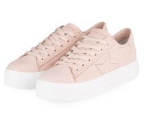 Plateau-Sneaker BIG - NUDE