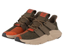 Sneaker PROPHERE - OLIV/ ORANGE