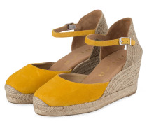 Wedges CACERES - DUNKELGELB