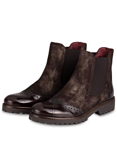 Chelsea-Boots - dunkelbraun