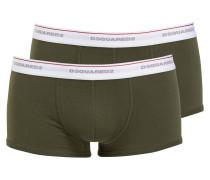 2er-Pack Boxershorts - oliv