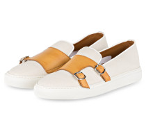 Slipper MIKE - CREME/ BRAUN