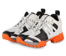 Sneaker - WEISS/ SCHWARZ/ ORANGE