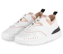 Sneaker - WEISS/ ROSÉ/ SCHWARZ