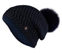 Mütze LEA mit Fellbommel