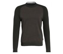 Pullover SMUG im Materialmix