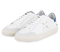 Sneaker CLEAN 90 TRIPLE BIRD - WEISS/ BLAU