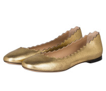Ballerinas LAUREN - GOLD