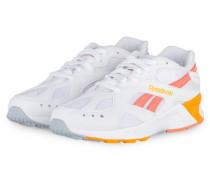 Sneaker AZTREK - WEISS/ ORANGE