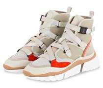 Sneaker SONNIE HIGH - LIGHT EUCALYPTOSE