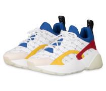 Plateau-Sneaker ECLYPSE - WEISS/ BLAU/ ROT