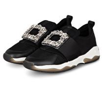Slip-on-Sneaker LUCIA mit Schmucksteinbesatz
