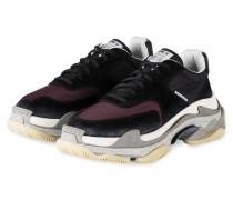 Sneaker TRIPLE S - SCHWARZ/ DUNKELLILA