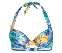 Push-up-Bikini-Top FLEUR TROPICALE