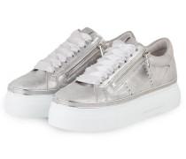 Plateau-Sneaker GIGA - SILBER