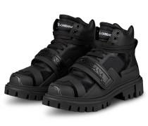 Hightop-Sneaker TREKKING - SCHWARZ
