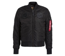 Blouson MA-1VF NASA mit Patches