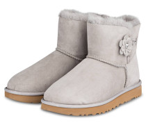 Fell-Boots MINI BAILEY PETAL - HELLGRAU