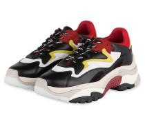 Sneaker ADDICT - SCHWARZ/ ROT