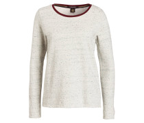 Sweatshirt mit Kette - creme meliert