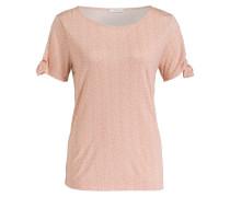 T-Shirt SADIE - weiss/ lachs
