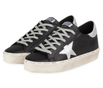 Plateau-Sneaker HI STAR - SCHWARZ/ GRAU