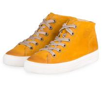 Hightop-Sneaker - DUNKELGELB