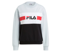 Sweatshirt ANGELA - schwarz/ mint/ weiss