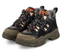 Hightop-Sneaker ALMA GALAXY - SCHWARZ