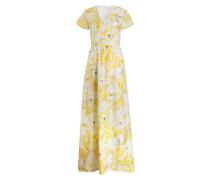 Kleid PENELOPE - gelb/ ivory/ rosa