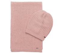 Set: Schal und Mütze