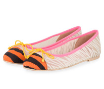 Ballerinas MARILYN - CREME/ ROSA/ ORANGE