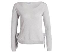 Pullover - silber/ grau